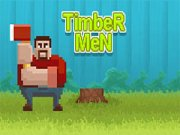 Play Timber Men Game on FOG.COM