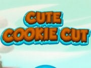 Play Cute Cookie Cut Game on FOG.COM