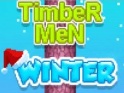 Play Timber Men Winter Game on FOG.COM