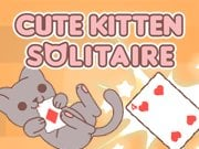 Play Cute Kitten Solitaire Game on FOG.COM