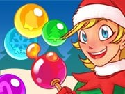 Play Bubble Charms Christmas Game on FOG.COM