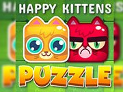 Play Happy Kittens Puzzle Game on FOG.COM