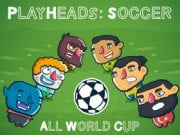 Play Playheads Soccer AllWorld Cup Game on FOG.COM