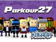 Play KOGAMA Parkour 27 Game on FOG.COM