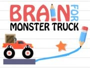 Play Brain For Monster Truck Game on FOG.COM