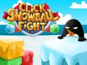 Play Click Snowball Fight Game on FOG.COM