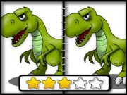 Play Dinosaur Spot the Difference Game on FOG.COM