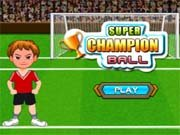 Play super champion ball Game on FOG.COM