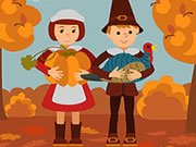 Play Thanksgiving Jigsaw Game on FOG.COM
