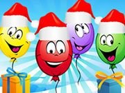 Play Christmas Balloons Game on FOG.COM
