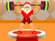 Play Santa Claus Weightlifter Game on FOG.COM