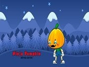 Play Ninja Pumpkin Winter Edition Game on FOG.COM