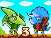Play Dino Squad Adventure 3 Game on FOG.COM