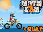 Play Moto X3M Pool Party Game on FOG.COM