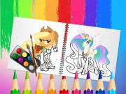 Sweet Pony Coloring Book