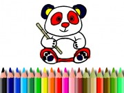 Play BTS Panda Coloring Game on FOG.COM