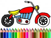 Play BTS Motorbike Coloring Game on FOG.COM