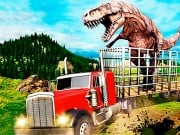 Play Jurassic Dino Transport Truck Game on FOG.COM