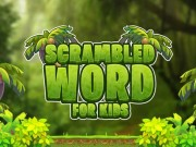 Scrambled Word For Kids