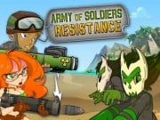 Play Army of Soldiers Resistance Game on FOG.COM