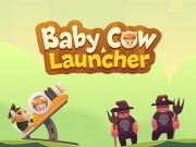 Play Baby Cow Launcher Game on FOG.COM