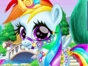 Play Rainbow Pony Caring Game on FOG.COM