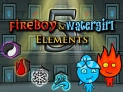 Play Fireboy and Watergirl 5 Elements Game on FOG.COM