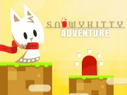 Play Snowy Kitty Adventure Game on FOG.COM