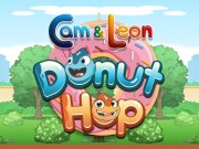 Play Cam and Leon Donut Hop Game on FOG.COM
