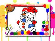 Play Winter Coloring Book Game on FOG.COM