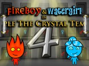 Play Fireboy and Watergirl 4 Crystal Temple Game on FOG.COM