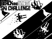 Play Black & White Ski Challenge Game on FOG.COM