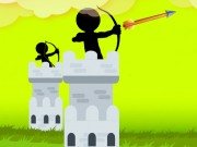 Play Stickman Archer Castle Game on FOG.COM