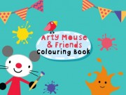 Play Arty Mouse Coloring Book Game on FOG.COM