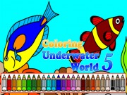 Play Coloring Underwater World 5 Game on FOG.COM