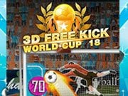 Play 3D Free Kick World Cup 18 Game on FOG.COM