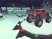 Play 3D Monster Truck: IcyRoads Game on FOG.COM
