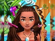 Play Polynesian Princess Real Haircuts Game on FOG.COM