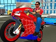Play Hero Stunt Spider Bike Simulator 3d Game on FOG.COM