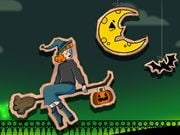 Play Halloween Witch Fly Game on FOG.COM
