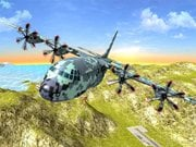 Play AirWar Plane Flight Simulator Challenge 3D Game on FOG.COM