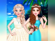 Princess Girls Wedding Trip