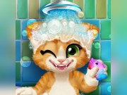 Play Rusty Kitten Bath Game on FOG.COM