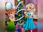 Play Sisters Christmas Room Prep Game on FOG.COM