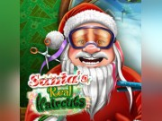 Play Santa's Real Haircuts Game on FOG.COM