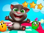 Play Talking Tom Hidden Star Game on FOG.COM