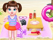 Play Baby Taylor Summer Beach Trip Game on FOG.COM
