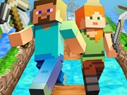 Play Minecraft Endless Runner Online Game on FOG.COM