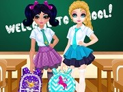 Play Jacqueline And Eliza School Bag Design Contest Game on FOG.COM
