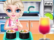 Play Baby Elsa Sushi Cooking Game on FOG.COM